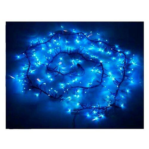 Гирлянда Sh Lights Фейерверк, 200 см, FC200, 200 ламп, синие диоды/синий провод гирлянда sh lights 250 см