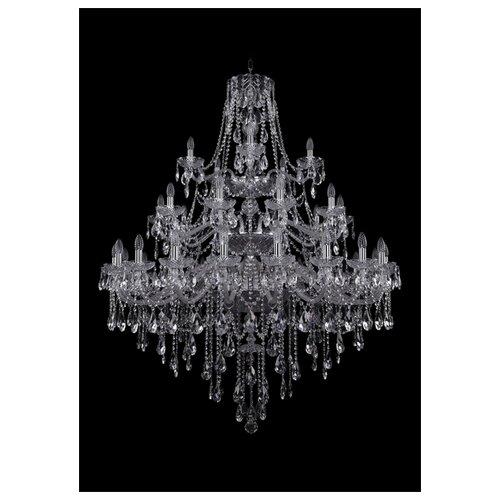 Фото - Люстра Bohemia Ivele Crystal 1415 1415/20+10+5/460/3d/Ni, E14, 1400 Вт люстра bohemia ivele crystal 1415 1415 20 10 5 400 xl 180 3d g e14 1400 вт
