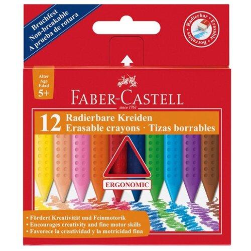 Купить Faber-Castell Восковые мелки Grip, 12 цветов, Пастель и мелки
