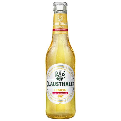 Пивной напиток Clausthaler Lemon, 0.33 л 24 шт