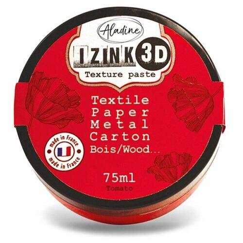 Паста Efco IZINK 3D на водной основе 75 мл tomato.