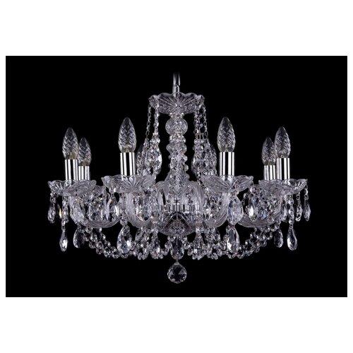 Люстра Bohemia Ivele Crystal 1406 1406/8/195/Ni, E14, 320 Вт люстра bohemia ivele crystal 1406 1406 8 160 ni leafs e14 320 вт