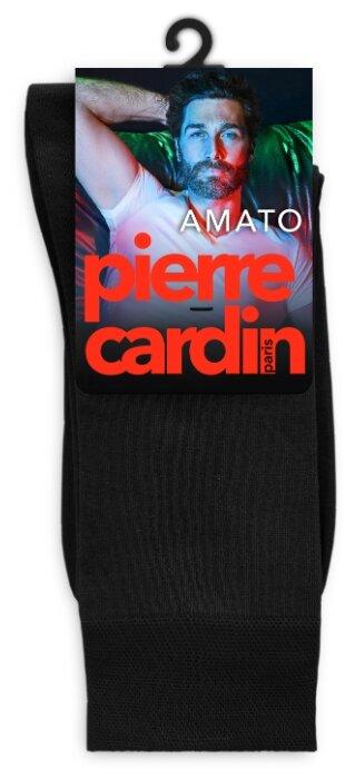 Купить Носки Pierre Cardin Light line. Amato, размер 3, черный по низкой цене с доставкой из Яндекс.Маркета (бывший Беру)