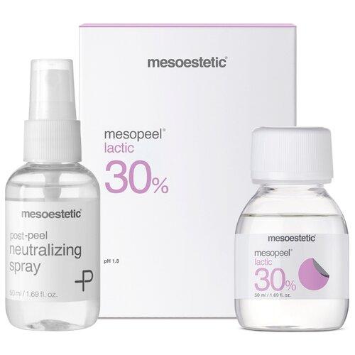 Mesoestetic пилинг молочный для лица Mesopeel Lactic 30% + нейтрализатор