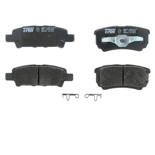 Дисковые тормозные колодки задние TRW GDB3341 для Chrysler Sebring, Mitsubishi Airtrek, Mitsubishi Lancer (4 шт.)