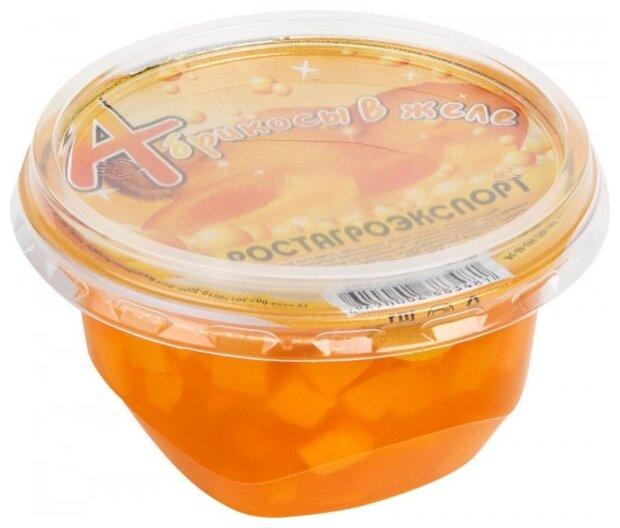 Желе РОСТАГРОЭКСПОРТ с фруктами Абрикос 0%, 150 г