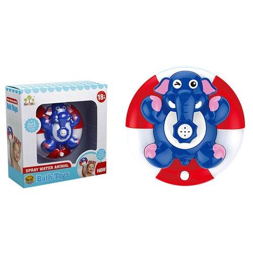 Купить Игрушка для ванной S+S Toys Слоник (200401604) синий/красный/белый, Игрушки для ванной