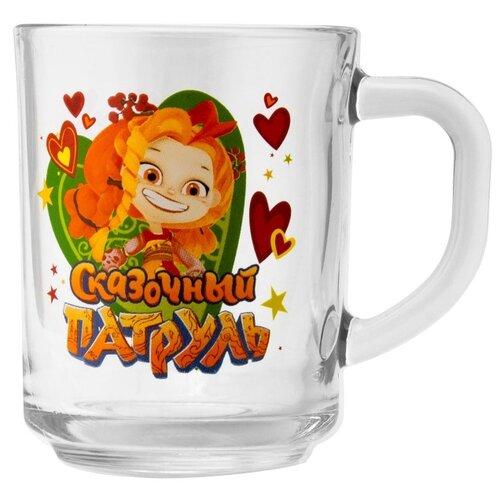 ND Play Кружка Сказочный Патруль Аленка, 250 мл 282143 прозрачный/оранжевый недорого