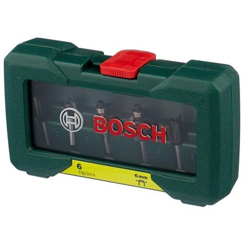 Набор фрез BOSCH 6 HM 2607019464 6MM-ХВ 6 шт.