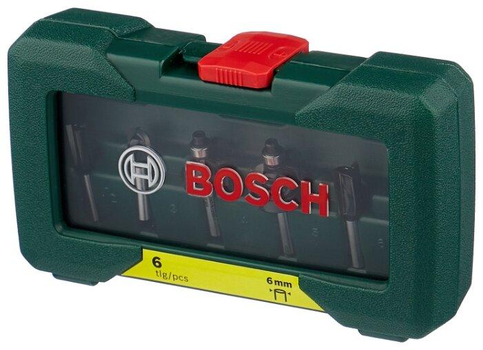Набор фрез BOSCH 6 HM 2607019464 6MM-ХВ — купить по выгодной цене на Яндекс.Маркете