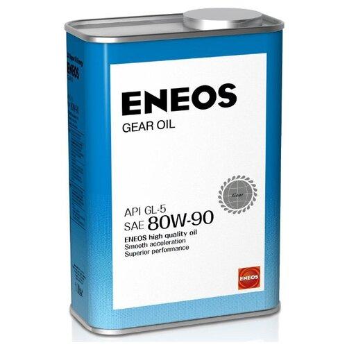 Трансмиссионное масло ENEOS GEAR GL-5 80W90 0.9 л 1 кг