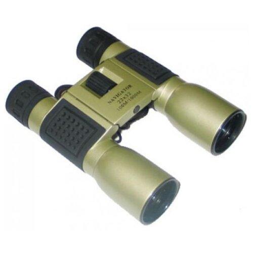 Фото - Бинокль Navigator 22x32 зеленый/черный бинокль navigator 10 30x60 зеленый