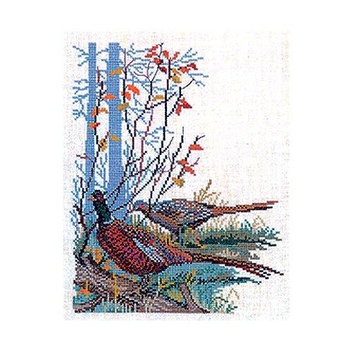 Купить Набор для вышивания Фазаны, лён 26 ct 25 х 35 см 12-562, EVA ROSENSTAND, Наборы для вышивания