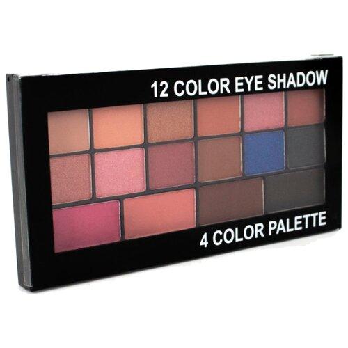 Romantic Color Палетка теней 12 Color Eye Shadow 4 Color Palette KS1710-B crayola mermaid eye palette палетка теней