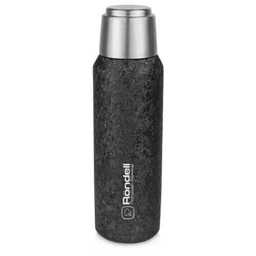 Фото - Классический термос Rondell Black Jacquard RDS-1067 (0,6 л) черный термос rondell rds 425 bottle black 700ml