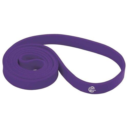 Эспандер лента Lite Weights 0835LW 208 х 3 см фиолетовый