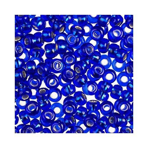 Купить Бисер Preciosa , 10/0, 50 грамм, цвет: 37080 синий, Фурнитура для украшений