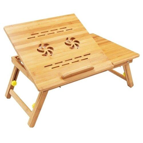 Стол для ноутбука Зеленый Шар BS 0001, светло-коричневый
