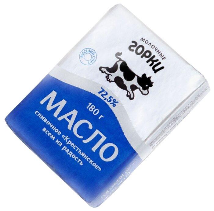 Молочные горки Масло сливочное Крестьянск 72.5%