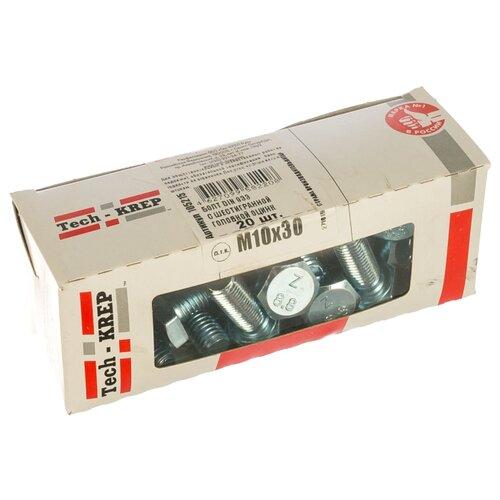Фото - Болт Tech-KREP DIN 933, 10х30 мм, 20 шт. болт m8x30 мм din 933 100 шт