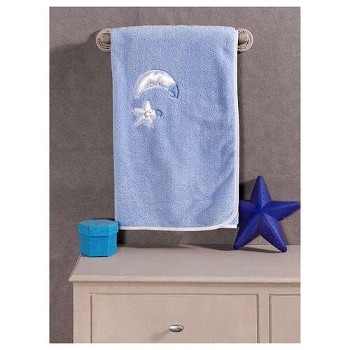 Плед велсофт Teddy Boo, 100% полиэстер, размер 80*120 см (blue)