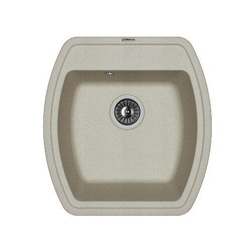 Врезная кухонная мойка 48 см FLORENTINA Нире-480 FS 20.190.В0480.305 грей florentina мойка кухоннаяflorentina нире 630 жасмин