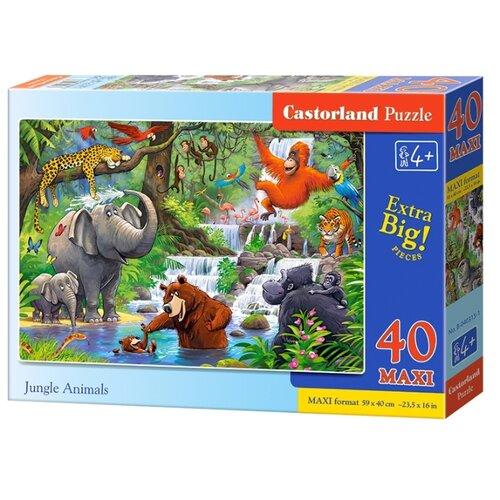 Купить Пазл Castorland Jungle Animals (B-040315), 40 дет., Пазлы