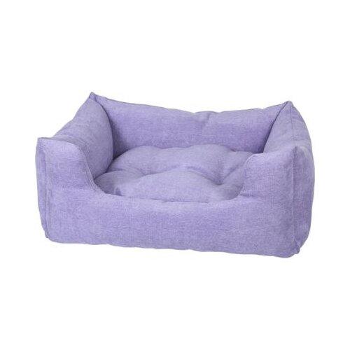 Лежак для собак и кошек PRIDE Резот 70х59 см лавандовый
