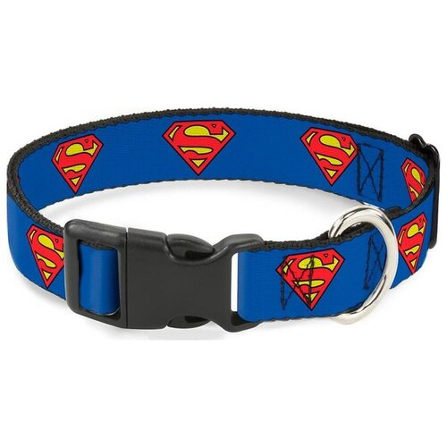 Buckle-Down с пластиковой застёжкой Супермен 28-43 см синий