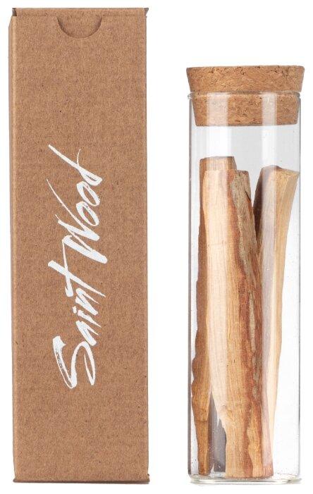 Купить Благовоние Пало Санто Saint Wood 3-4 палочки в стеклянной пробирке. по низкой цене с доставкой из Яндекс.Маркета (бывший Беру)