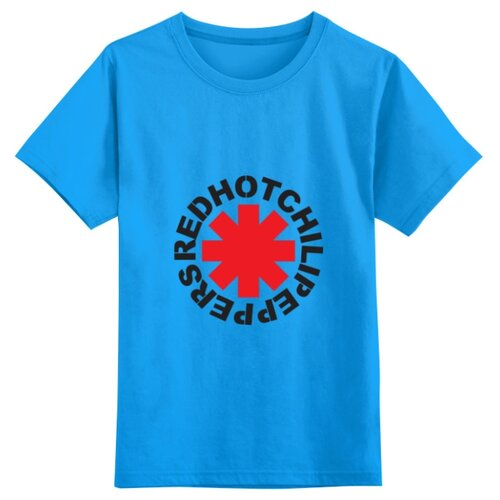 Купить Футболка Printio размер 4XS, голубой, Футболки и майки