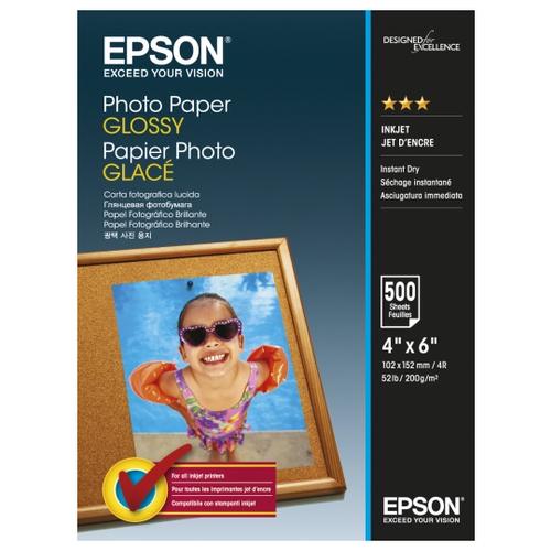 Фото - Бумага Epson 102x152 мм C13S042549 200 г/м² 500 лист., белый бумага revcol a6 127760 200 г м² 500 лист белый
