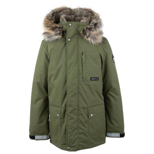 Купить Парка KERRY Jako K20468 размер 152, 334 зеленый, Куртки и пуховики