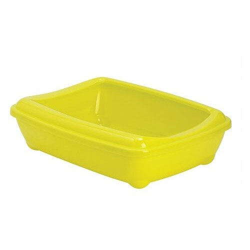 Туалет-лоток для кошек Moderna Arist-O-Tray Large 49.5х37.8х13.5 см лимон
