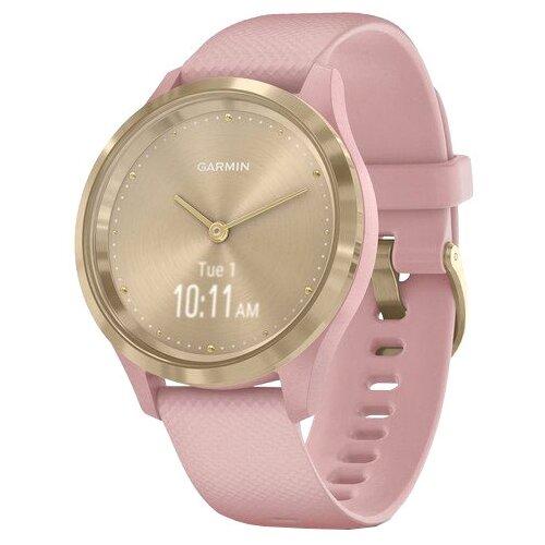 Часы Garmin Vivomove 3S золотистый/розовый умные часы garmin vivomove 3 черные с черным силиконовым ремешком