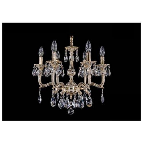 Люстра Bohemia Ivele Crystal 1704 1704/6/150/A/GW, E14, 240 Вт бра bohemia ivele crystal 1610 1610 3 gw