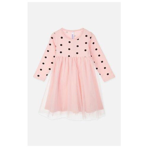 Платье playToday размер 92, светло-розовый колготки для девочки acoola muna цвет светло розовый 20254460001 3400 размер 92