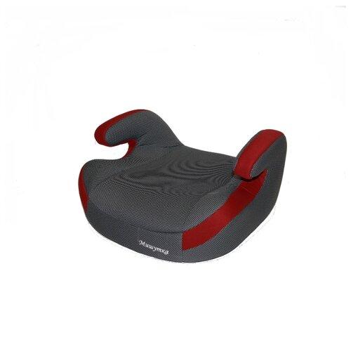 Купить Бустер группа 3 (22-36 кг) Мишутка LB 311R, deep red/black dot, Автокресла