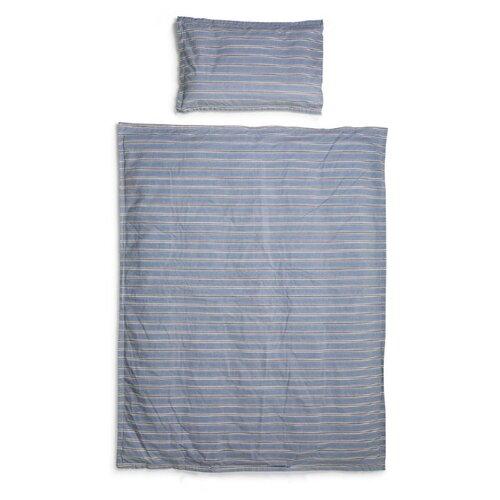 Купить Elodie комплект в кроватку Sandy Stripe (2 предмета) голубой, Постельное белье и комплекты