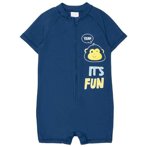 Купить Комбинезон для плавания crockid размер 104-110, темно-синий, Белье и пляжная мода