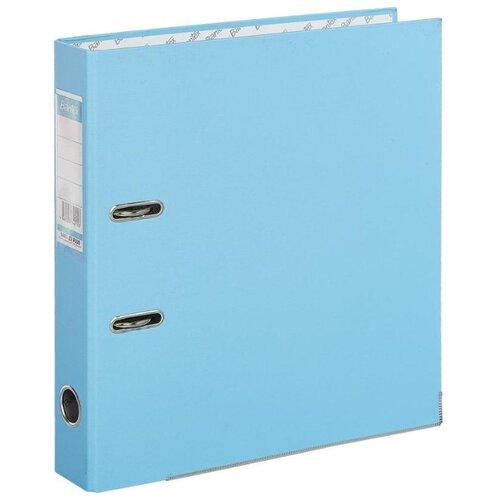 Купить Bantex Папка-регистратор Economy Plus A4, бумвинил, 50 мм голубой, Файлы и папки