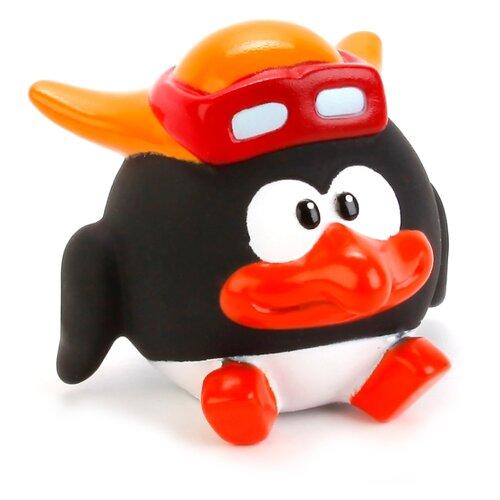 Купить Игрушка для ванной Играем вместе Смешарики. Пин (LXS38) черный/белый/оранжевый, Игрушки для ванной