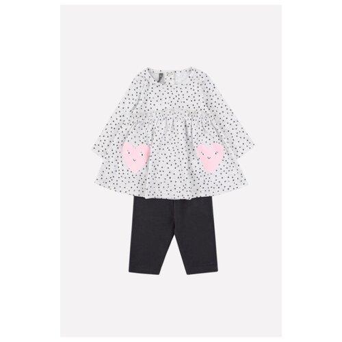 Купить Комплект одежды crockid размер 98, серый/темно-серый, Комплекты и форма