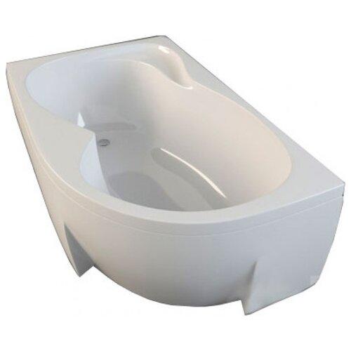 Ванна RAVAK Rosa 95 160x95 без гидромассажа акрил угловая левосторонняя ванна ravak asymmetric 150x100 без гидромассажа акрил угловая левосторонняя