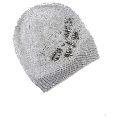Купить Шапка-бини Modniki размер 54-58, серый, Головные уборы