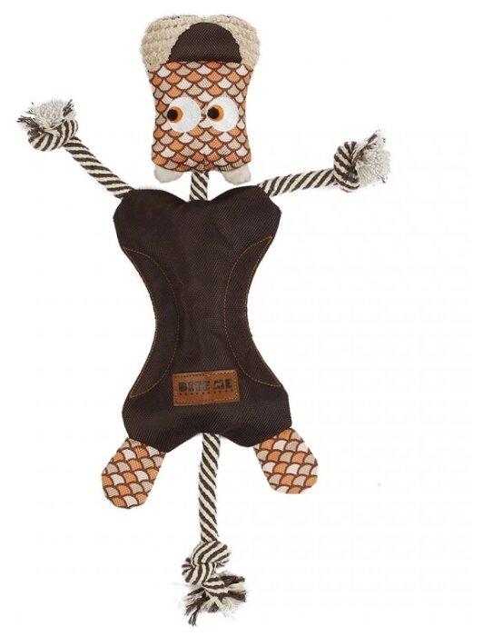 """Купить Игрушка для собак EBI мягкая """"Funky Leo"""", коричневая, 29х40см (Нидерланды) по низкой цене с доставкой из Яндекс.Маркета"""