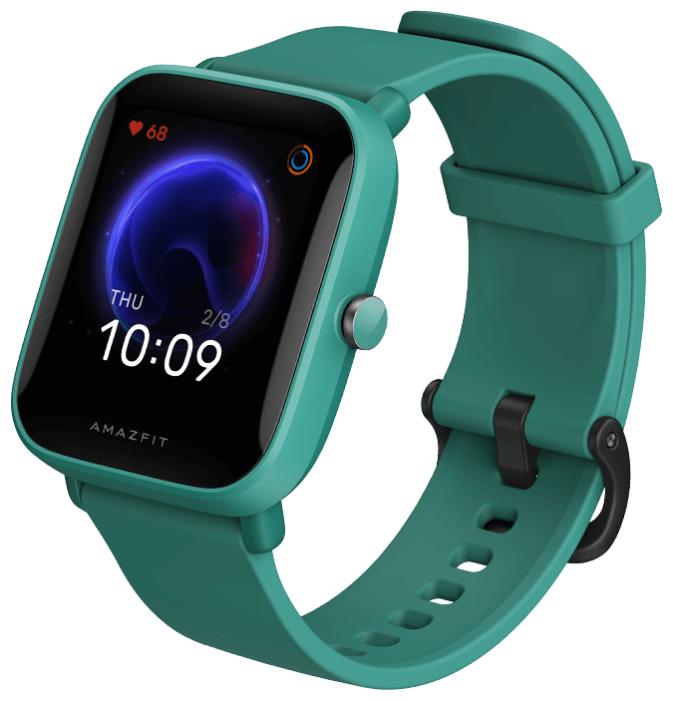 Умные часы Amazfit Bip U, зеленый фото 1