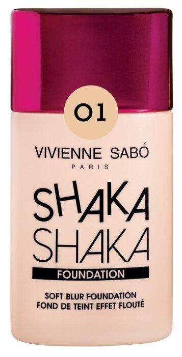 Купить Vivienne Sabo Тональный крем Shaka Shaka, 25 мл, оттенок: 01 Светло-бежевый по низкой цене с доставкой из Яндекс.Маркета