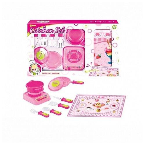 Купить Набор New Forest ZY663506 розовый, Детские кухни и бытовая техника