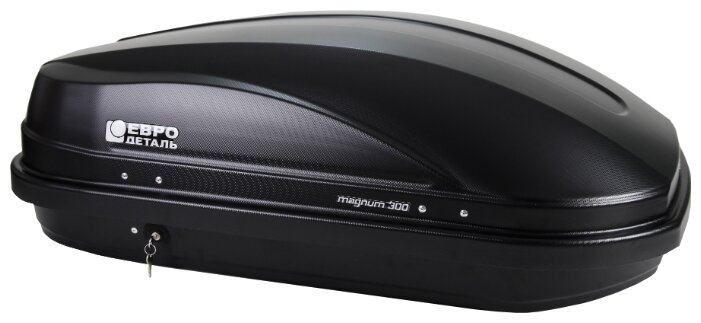 Бокс автомобильный Магнум 300 (белый металлик) (1250х780х420) Evrodetal ED5-028B